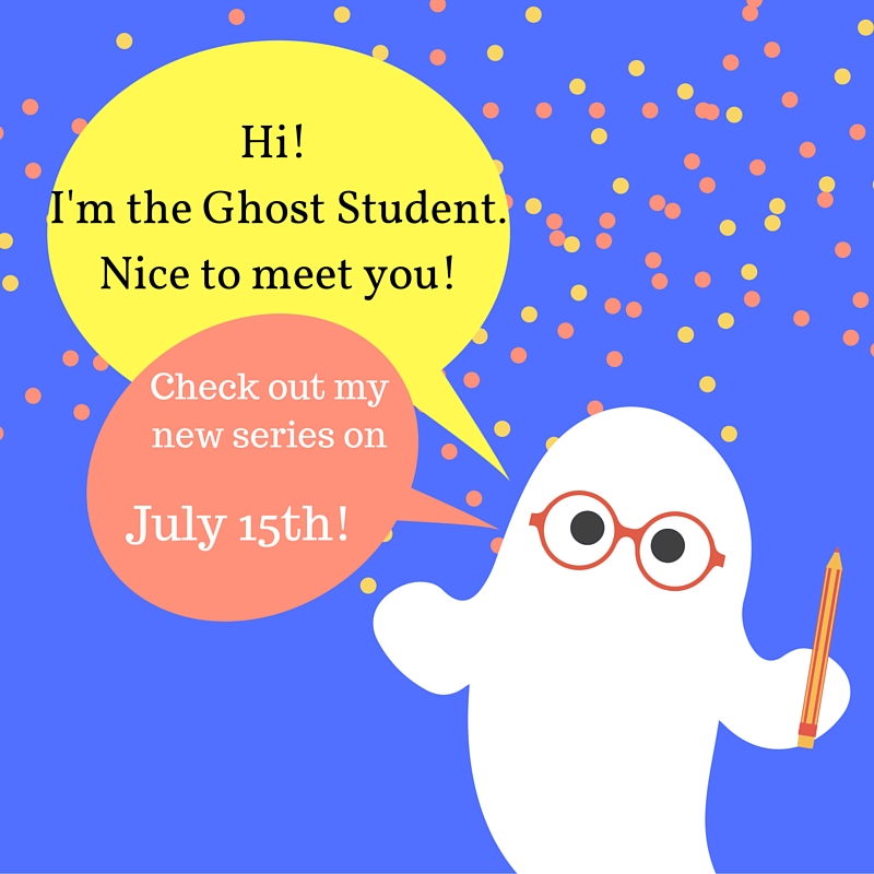 Hi! I'm the Ghost Student.Nice to Meet you!